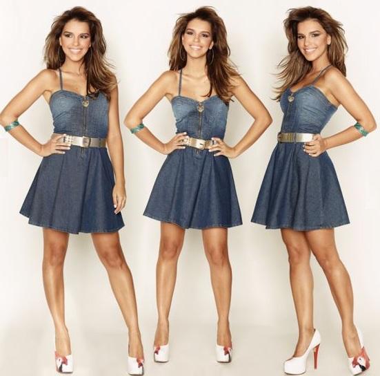 vestido jeans mariana