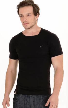 Camiseta Skinny Gola Careca REF PE2201