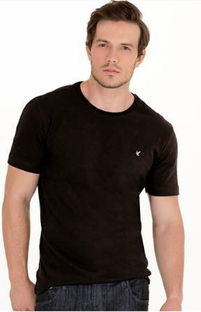 Camiseta Slim Gola Careca REF PE2203